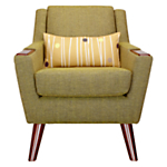 G Plan Vintage The Fifty Five Armchair, Marl green