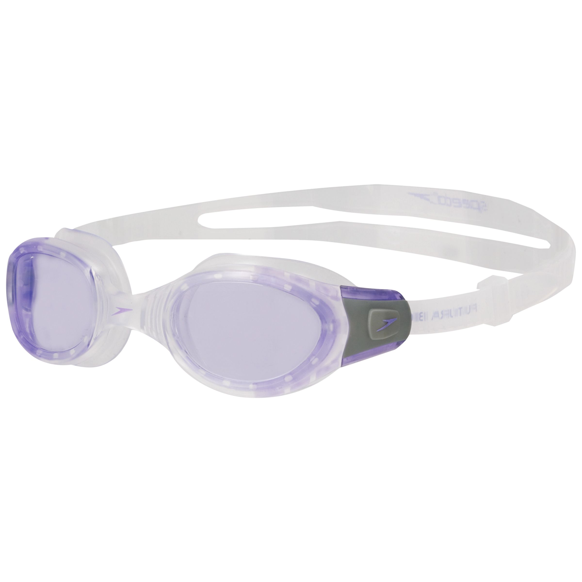 Speedo Futura Biofuse Goggles, Clear/Purple