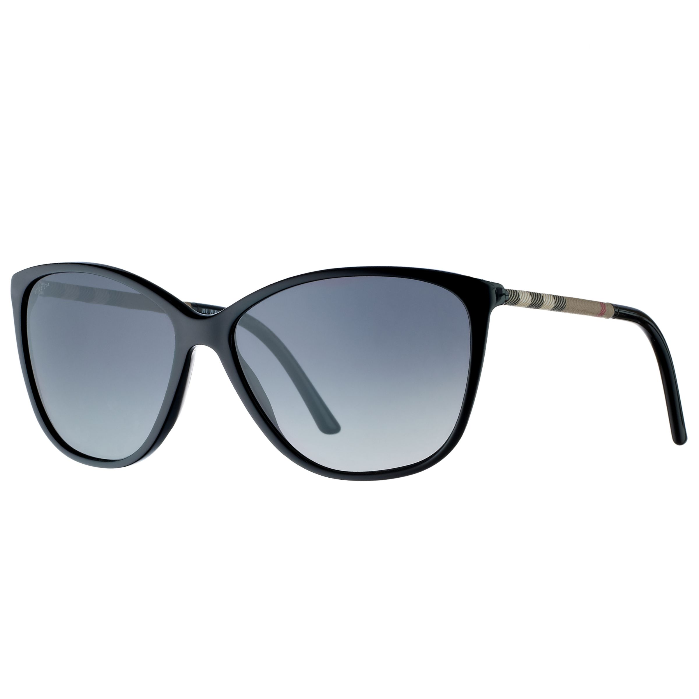 Burberry Cat's Eye Sunglasses, Black, Black