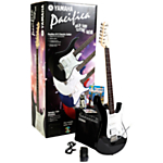Yamaha Pacifica 012 Electric Guitar, Black with Amplifier and Accessories