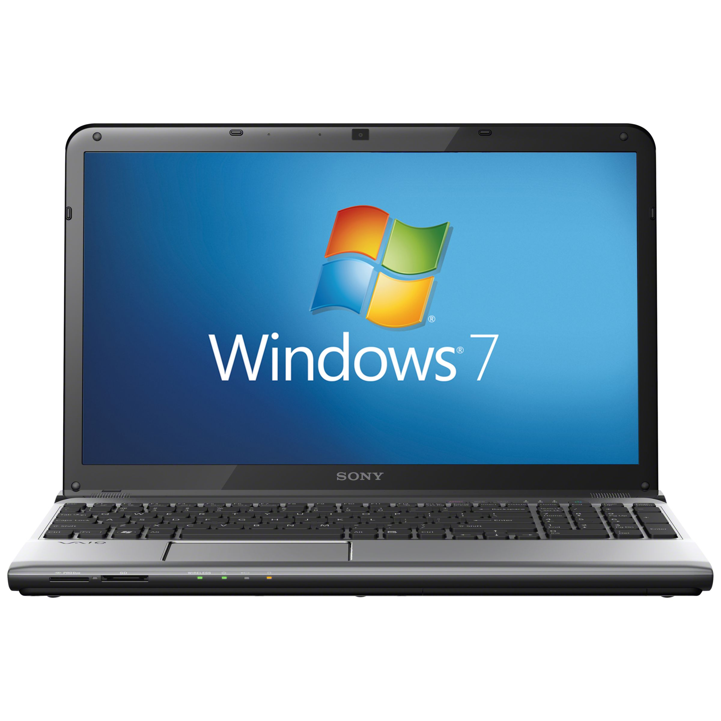 """Sony Vaio E1511f1es Laptop, Intel Core I3, 2.4ghz, 4gb Ram, 640gb, 15.5"""", Silver"""