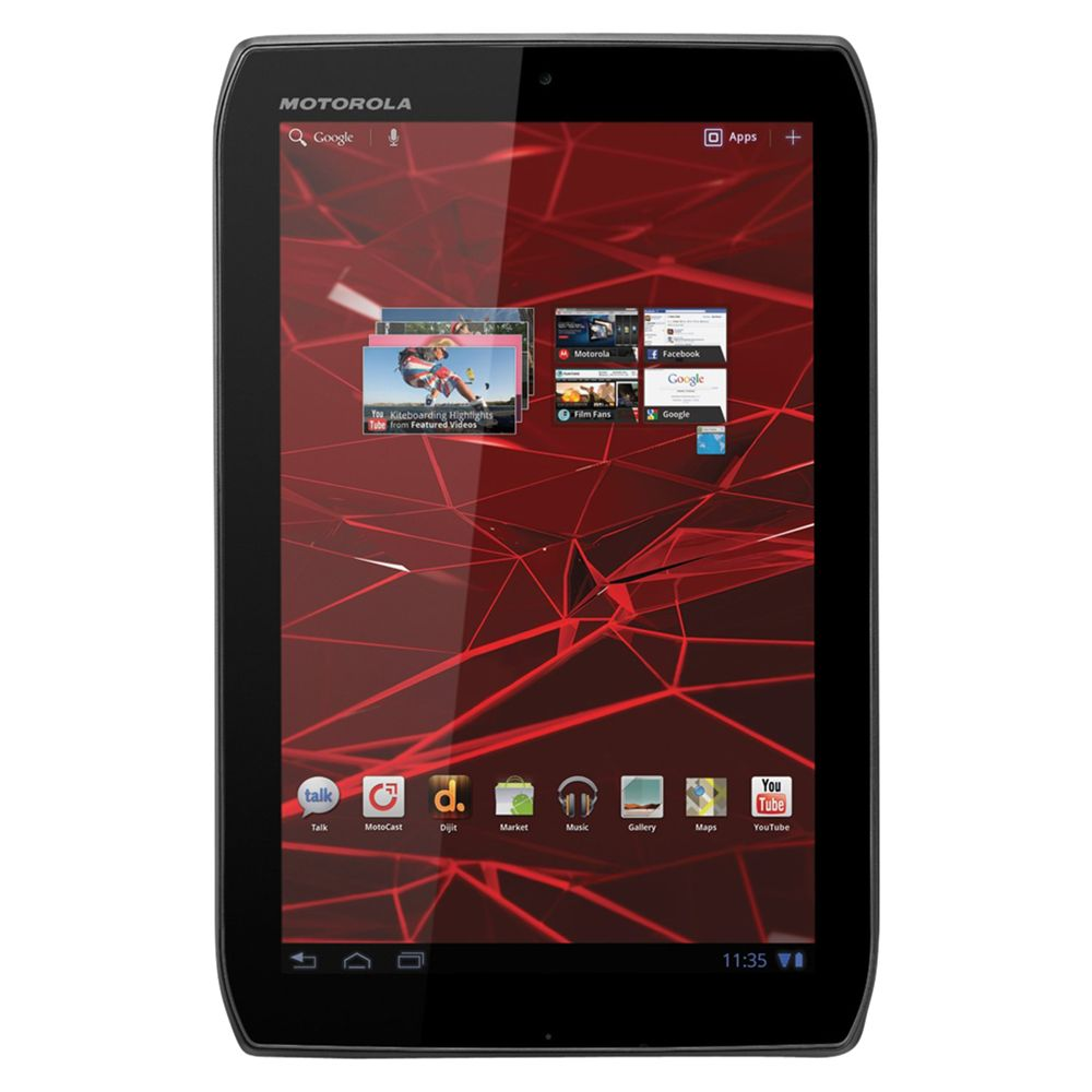 Motorola Xoom 2 Media Edition Tablet, 16gb, Wi-fi, Adobe Flash, 8.2inch Display, Black