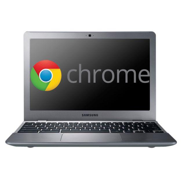 "Samsung Series 5 550 Chromebook, Intel Celeron, 1.3ghz, 4gb Ram, 16gb Ssd, Wi-fi, 12.1"", Silver"