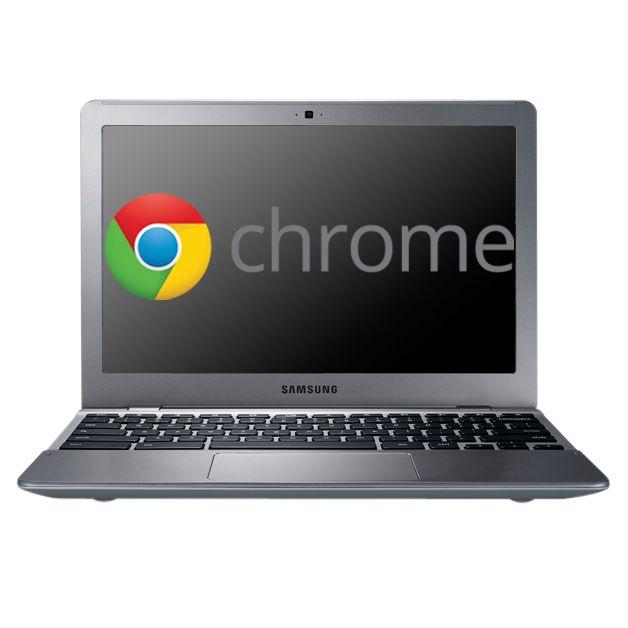 "Samsung Series 5 550 Chromebook, Intel Celeron, 1.3ghz, 4gb Ram, 16gb Ssd, Wi-fi/3g, 12.1"", Silver"
