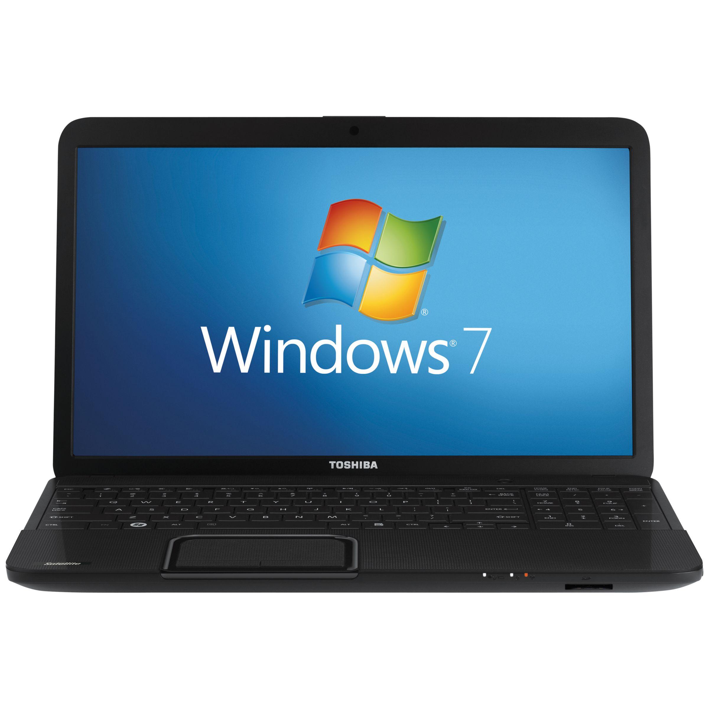 "Toshiba Satellite C850-161 Laptop, Intel Core I3, 2.1ghz, 4gb Ram, 500gb, 15.6"", Black"