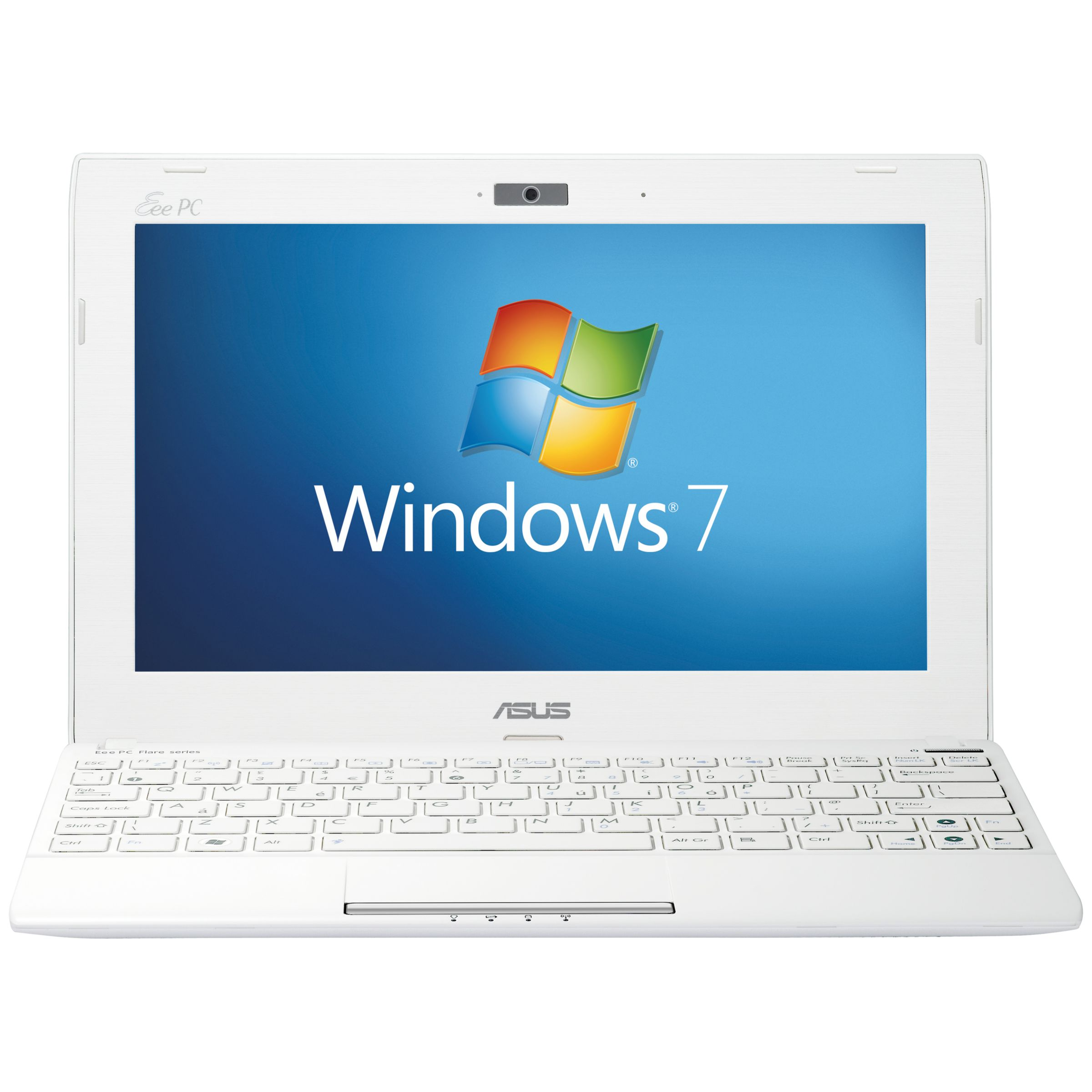 Asus 1025c Netbook, Intel Atom, 1.86ghz, 1gb Ram, 320gb, 12 Hours Battery Life, 10.1'', White