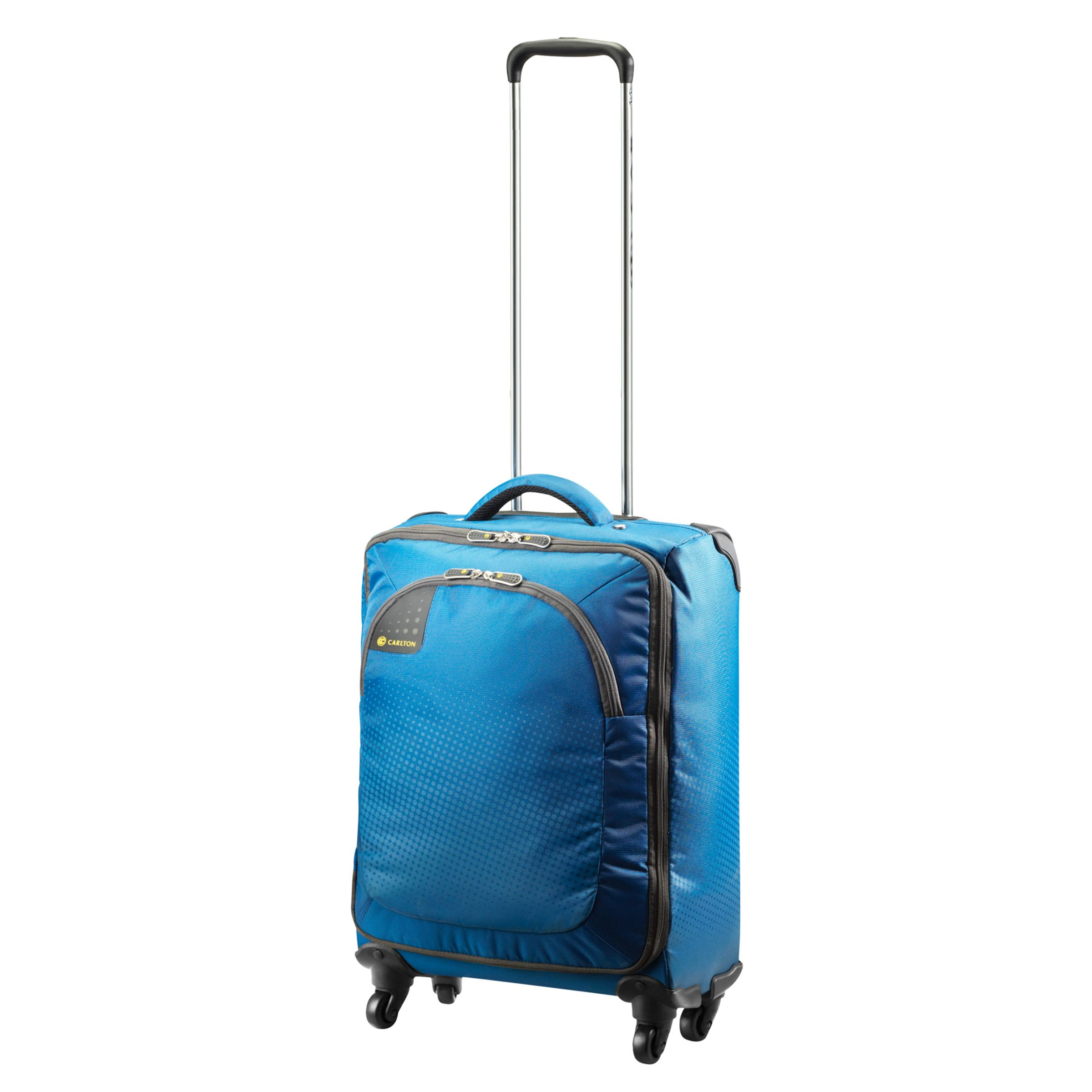 Carlton Tribe 4-Wheel Spinner Suitcase, Caribbean Blue, Small