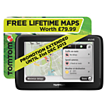 TomTom GO LIVE 1005 V2.0 GPS Navigation System, World Maps