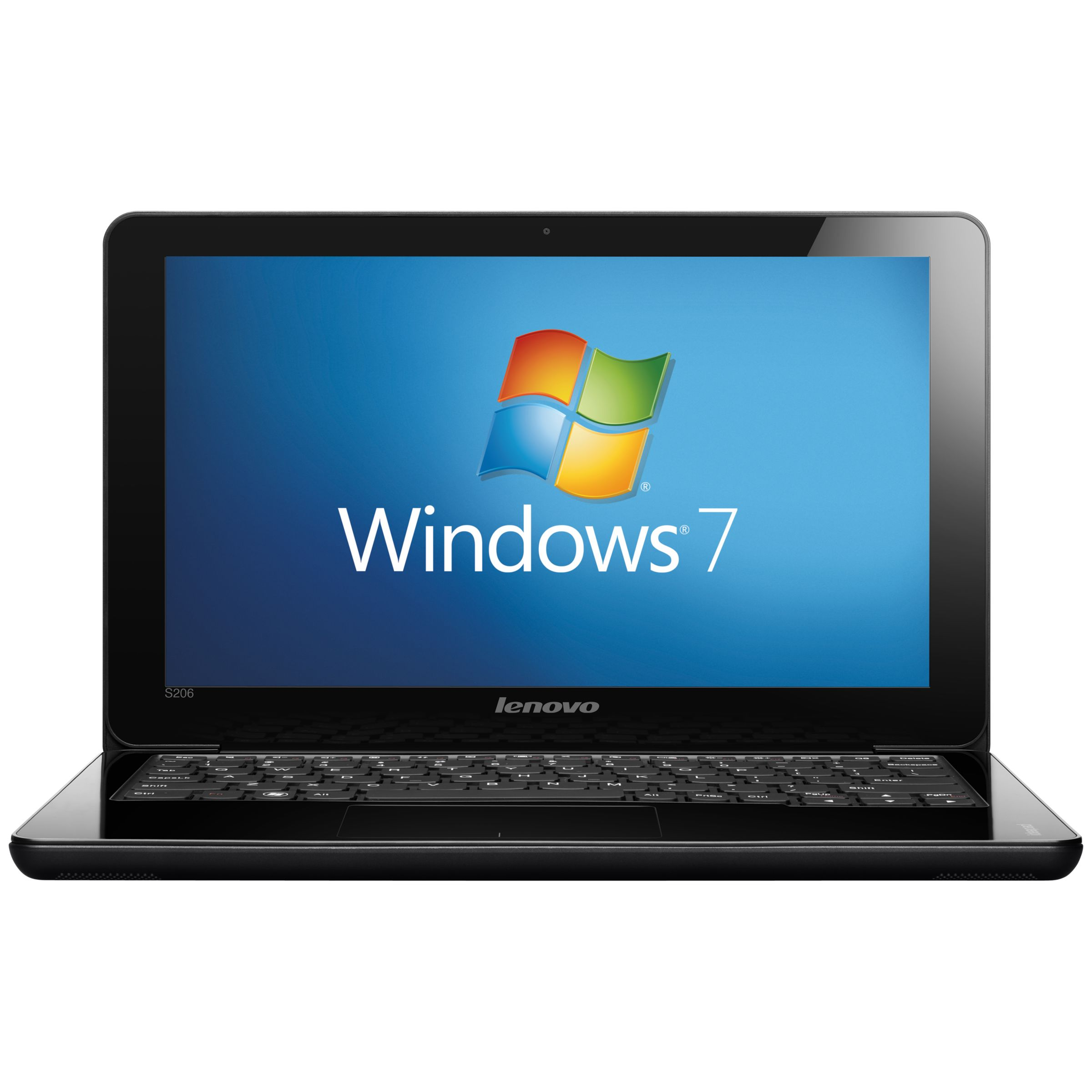 Lenovo Ideapad S206 Netbook, Amd E1200, 1.4ghz, 4gb Ram, 320gb With 11.6 Inch Display, Grey