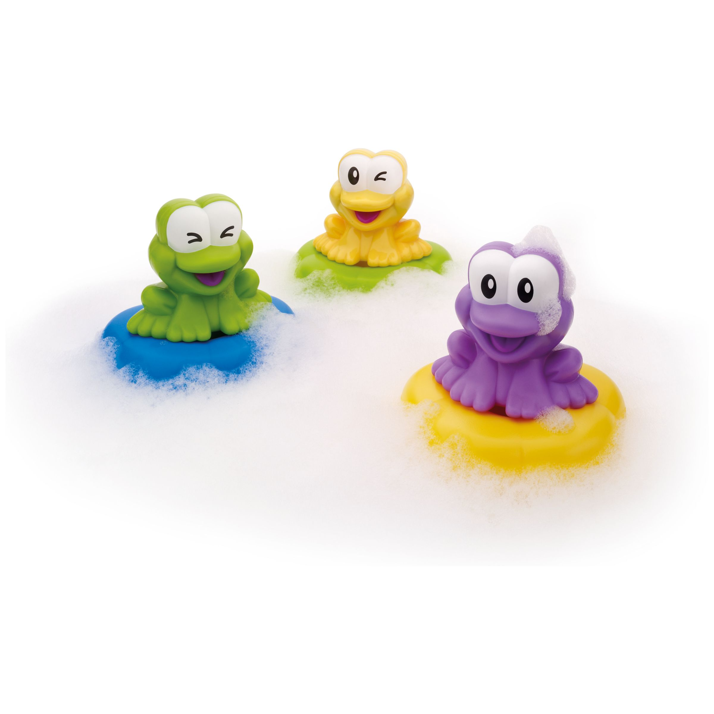 John Lewis Floating Frog Symphony Bath Toy