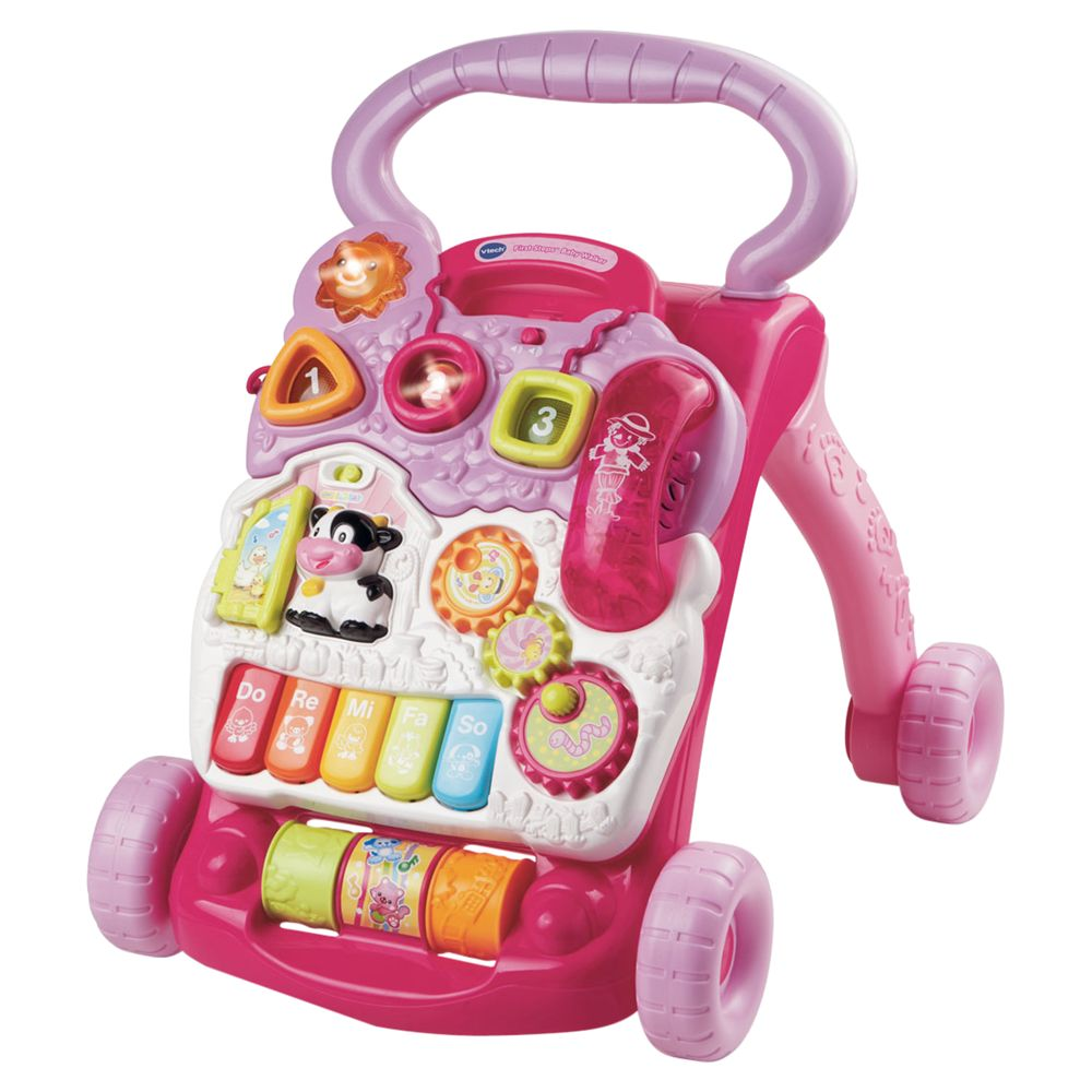 V-Tech First Steps Babywalker, Pink