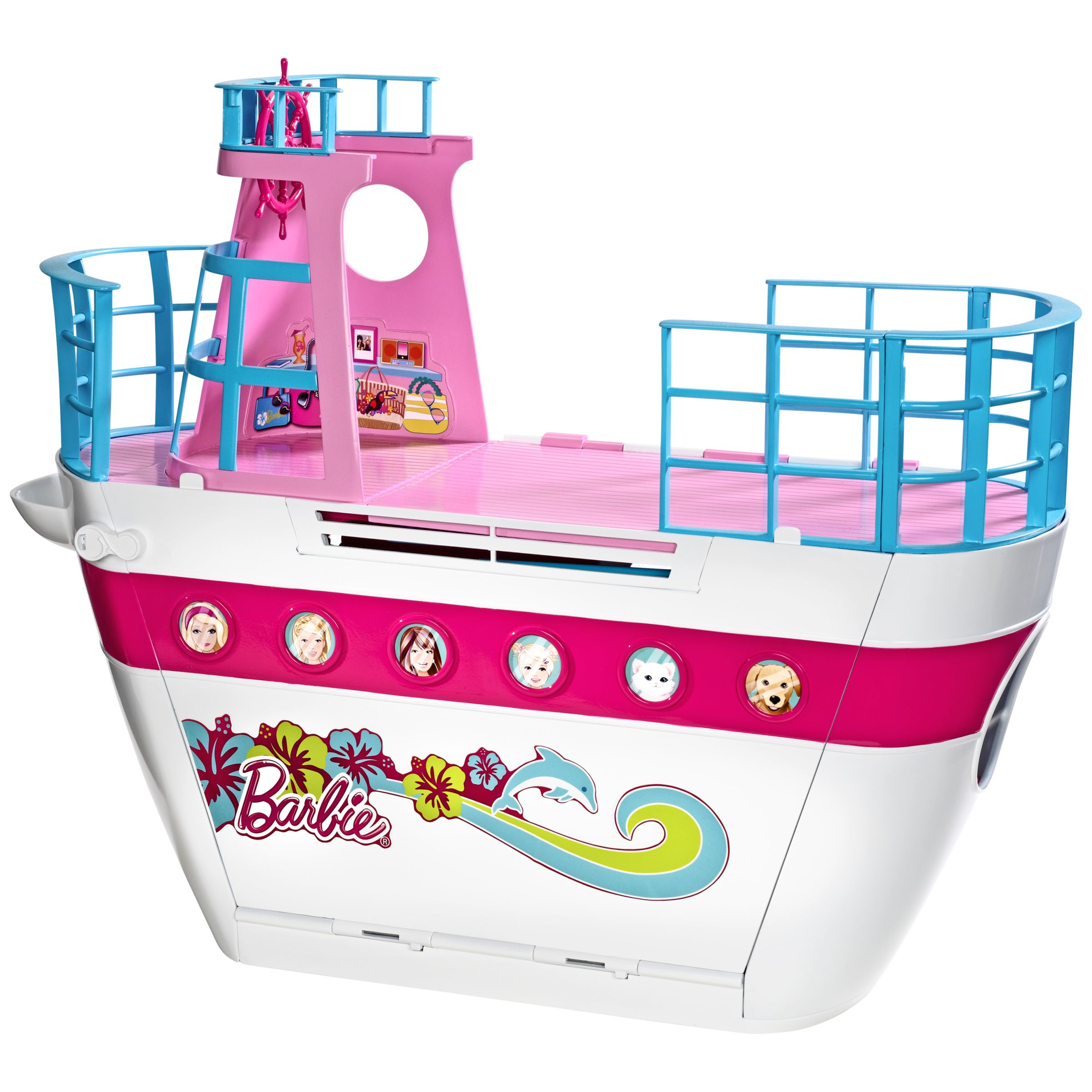 Barbie Family Cruise Ship