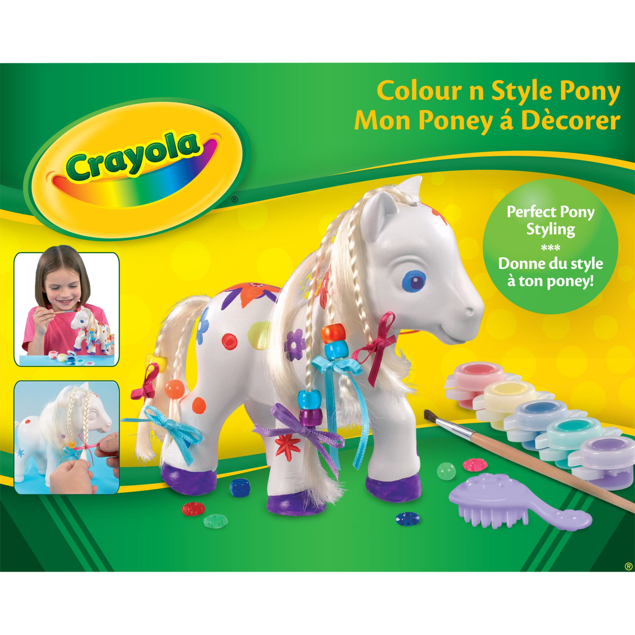 Crayola Colour n Style Pony