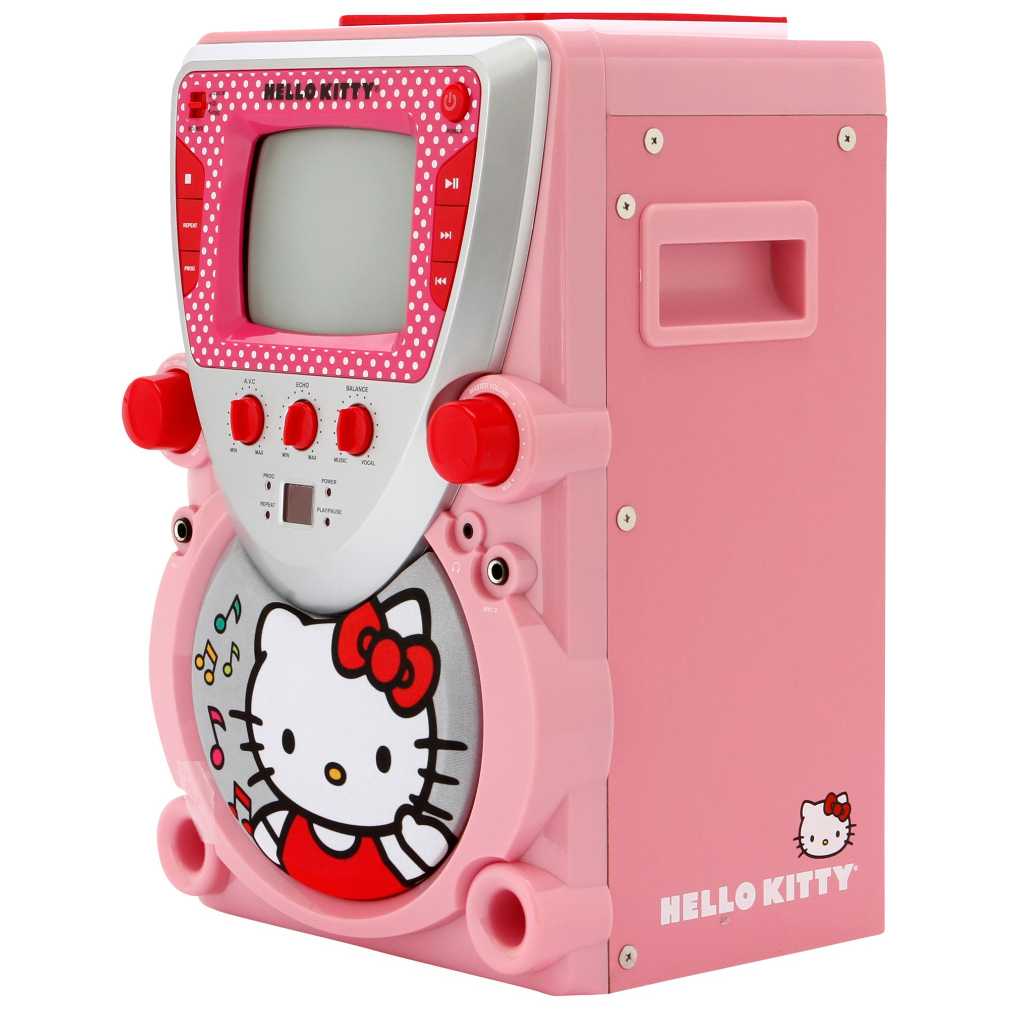 Hello Kitty Karaoke System With Screen