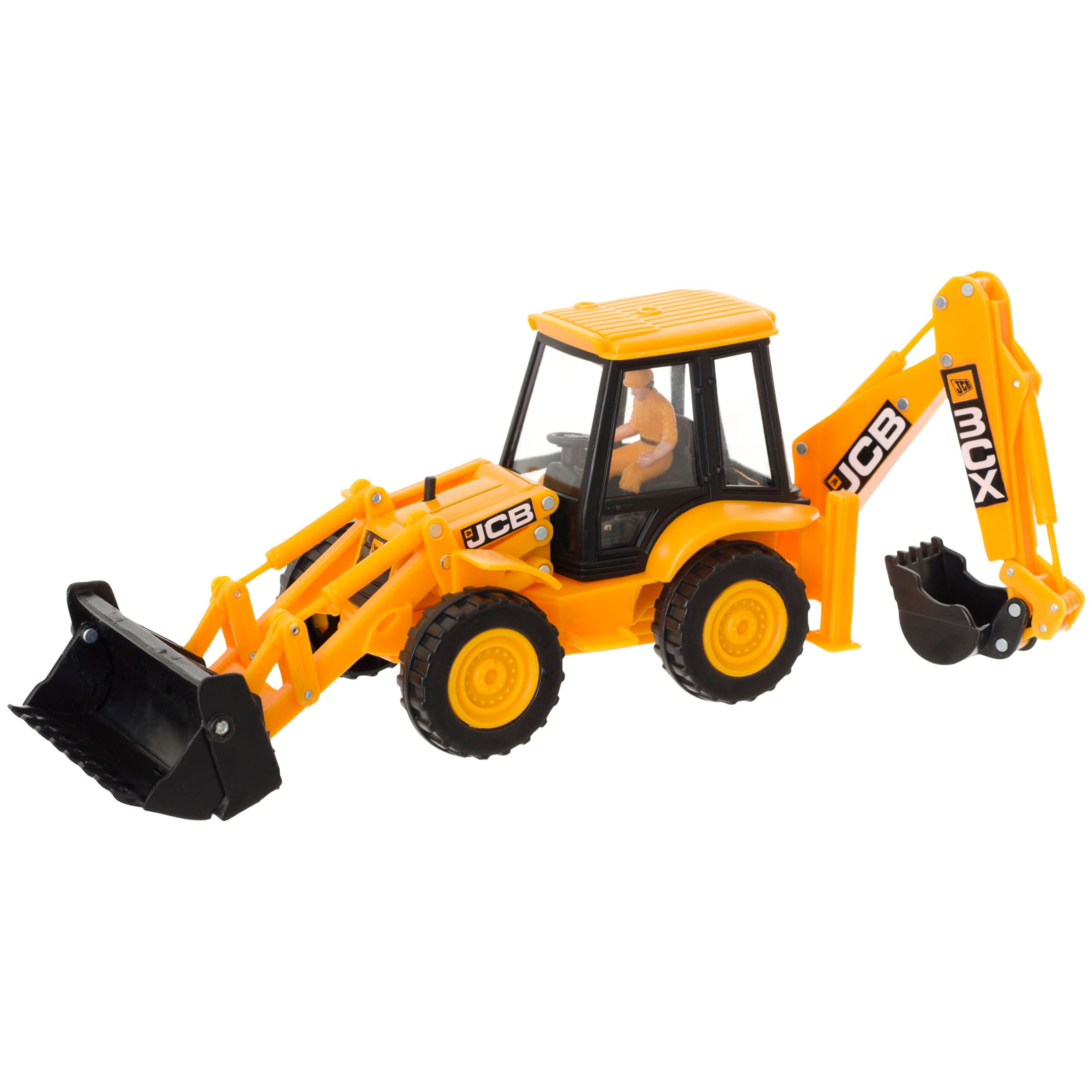 JCB 1:32 Scale Vehicles, Assorted