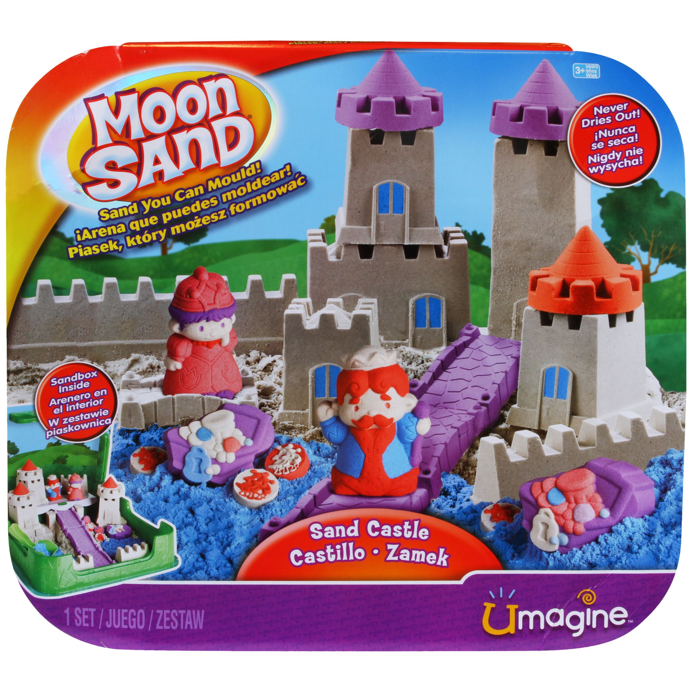 Moon Sand Sandcastle