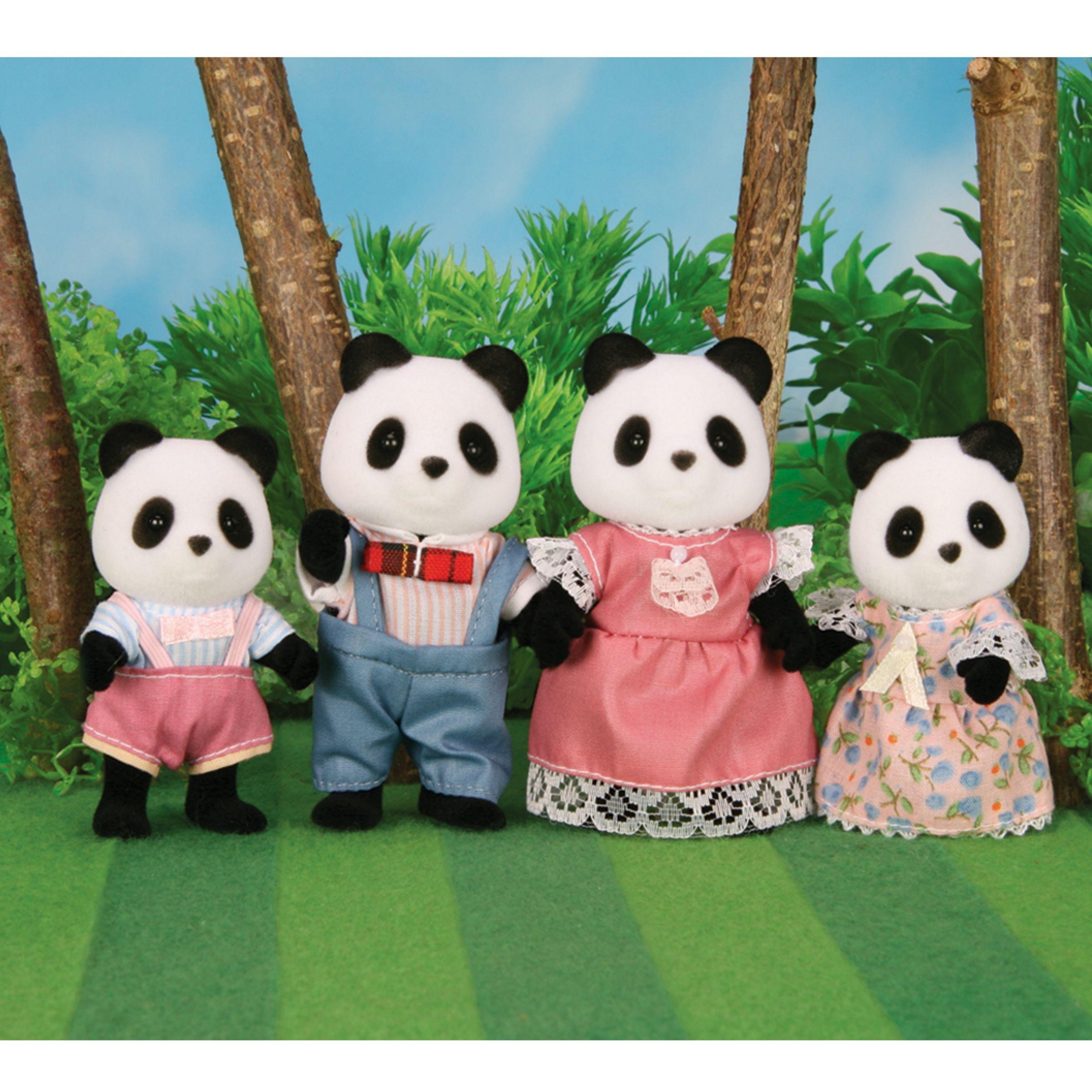 Sylvanian Panda Family