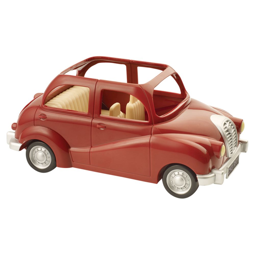 Sylvanian Red Saloon Car