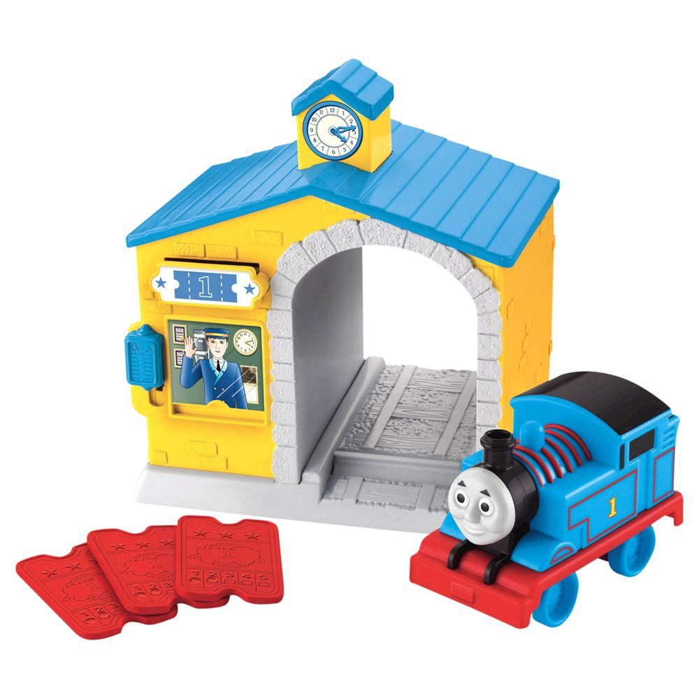 Thomas The Tank Engine Sodor Ticket Station