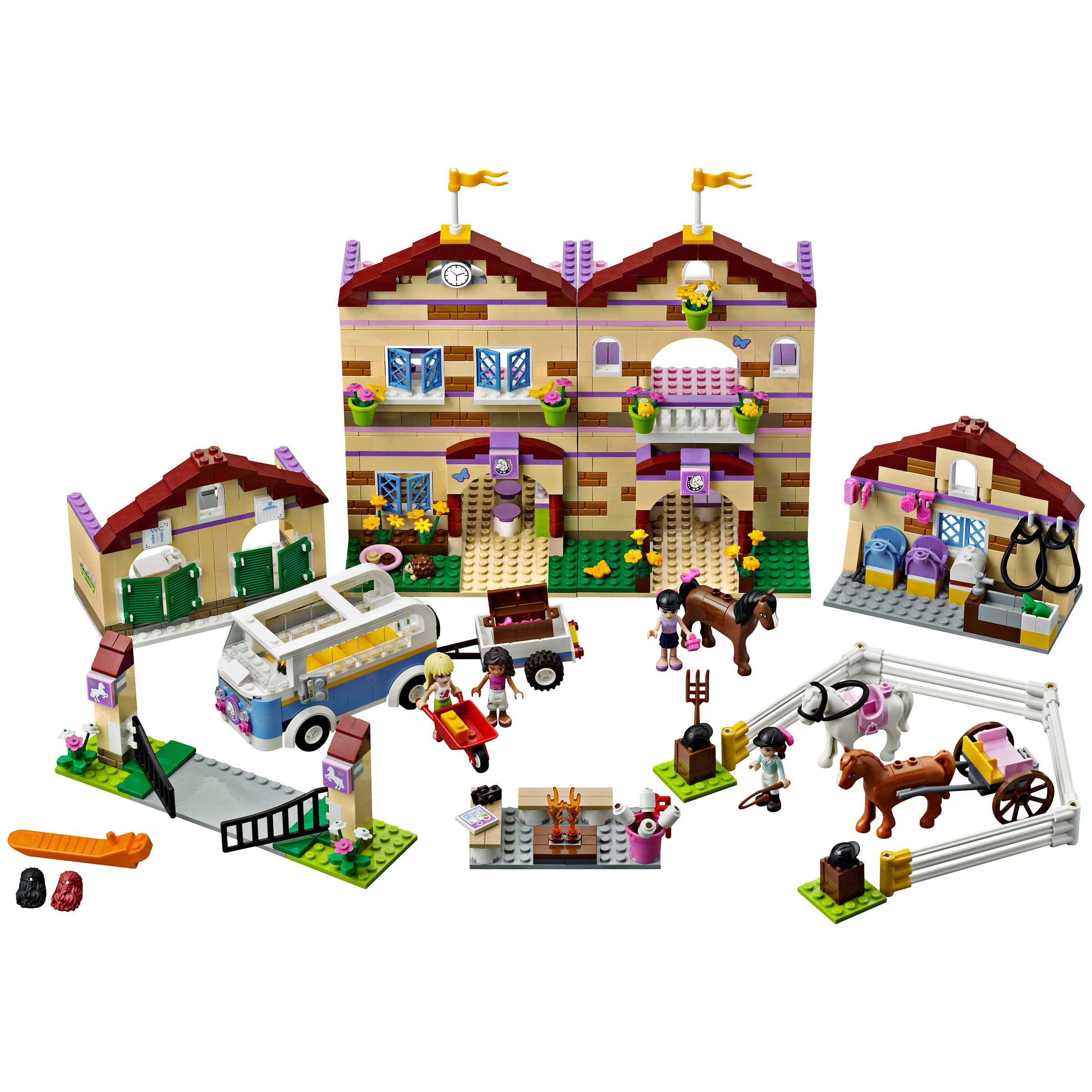 Buy Lego Friends Summer Riding Camp online at JohnLewis   John