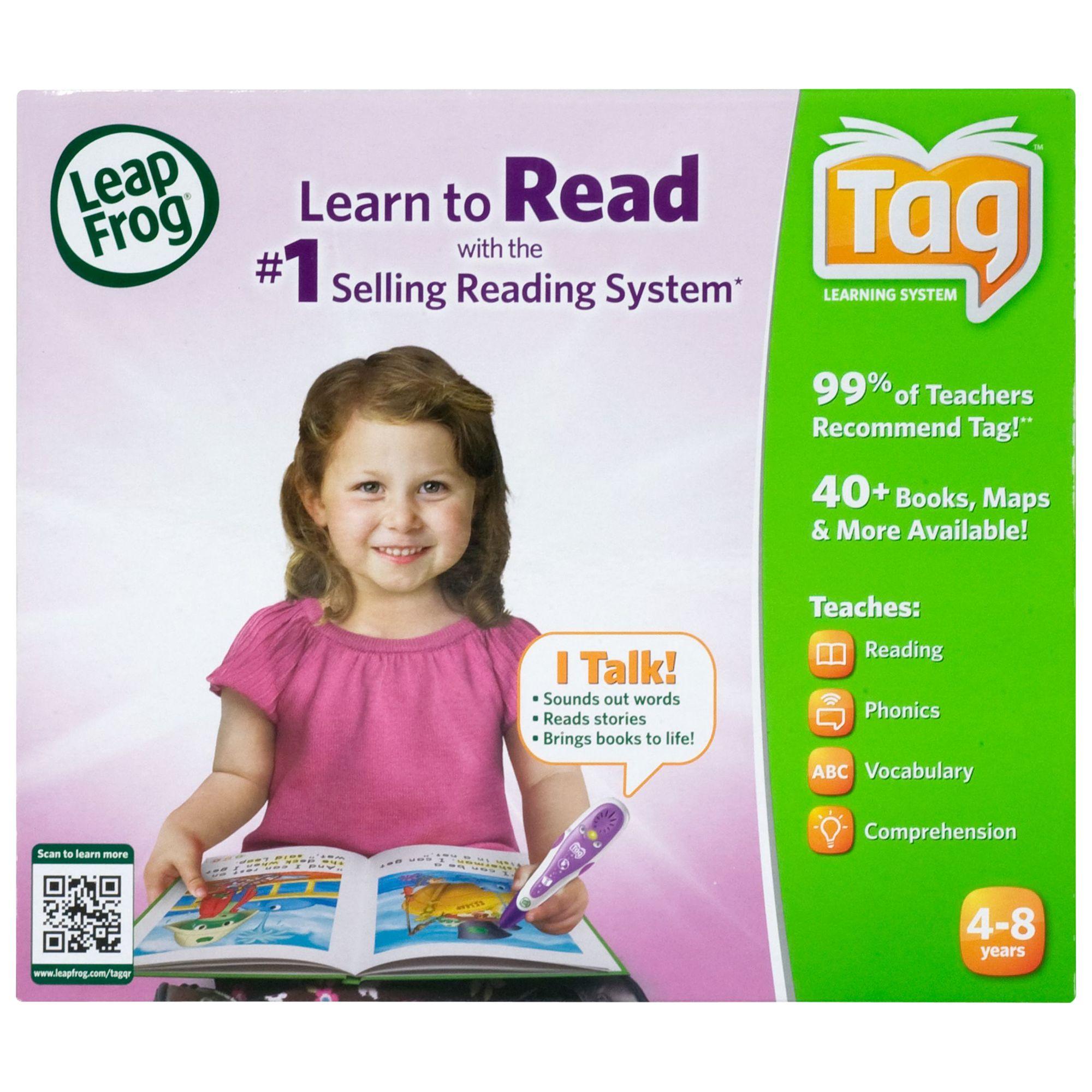 LeapFrog Tag Reader, Pink