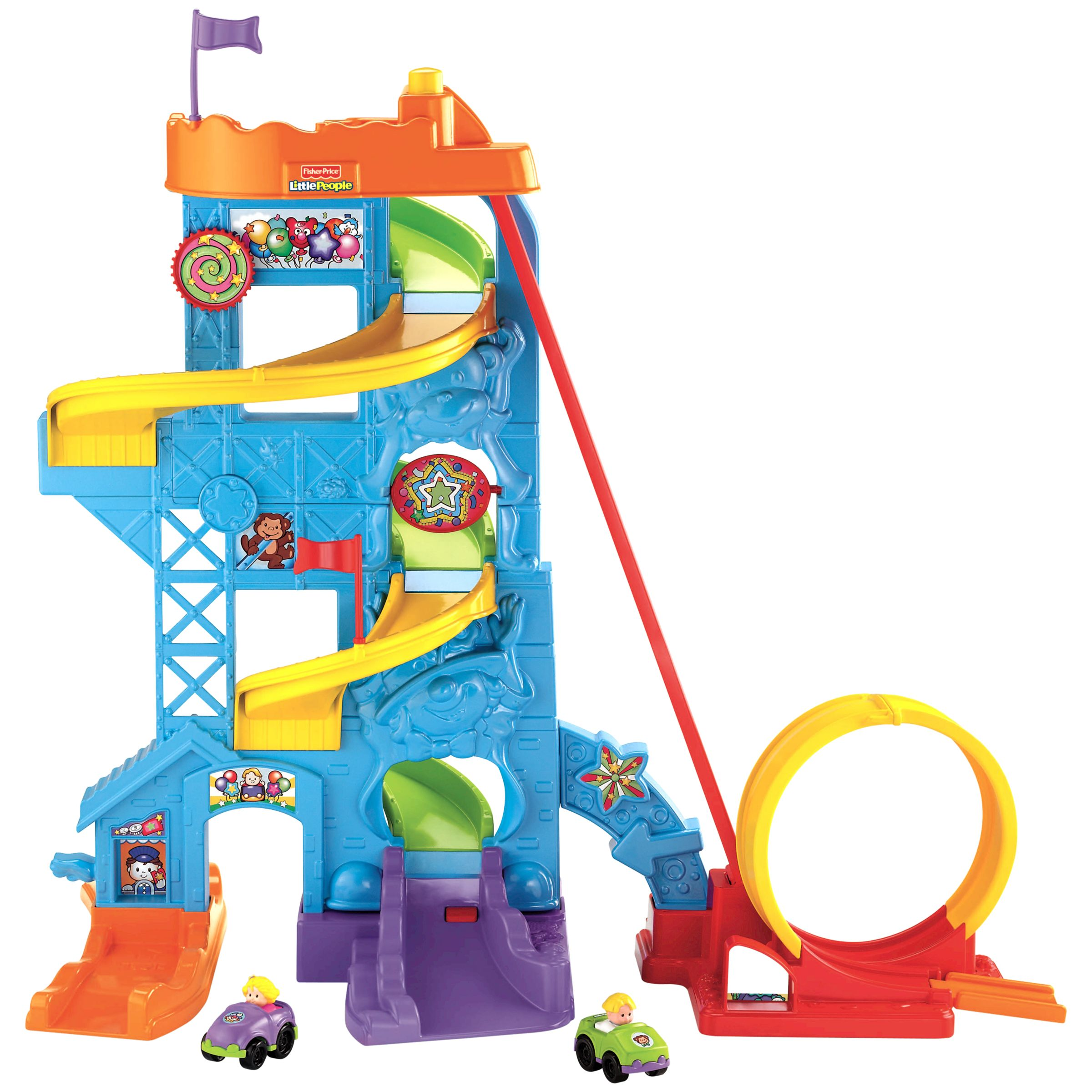 Fisher-Price Wheelies Stand and Play Fun Park