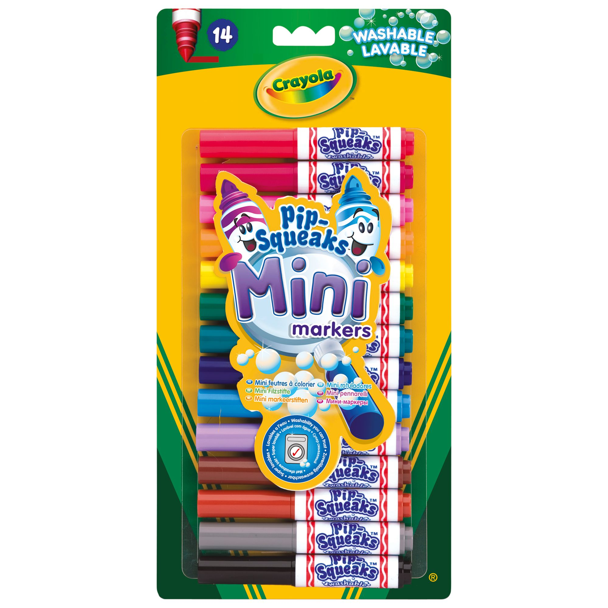 Crayola Pipsqueak Mini Markers