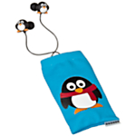 Penguin Earphones and Phone Sock Set