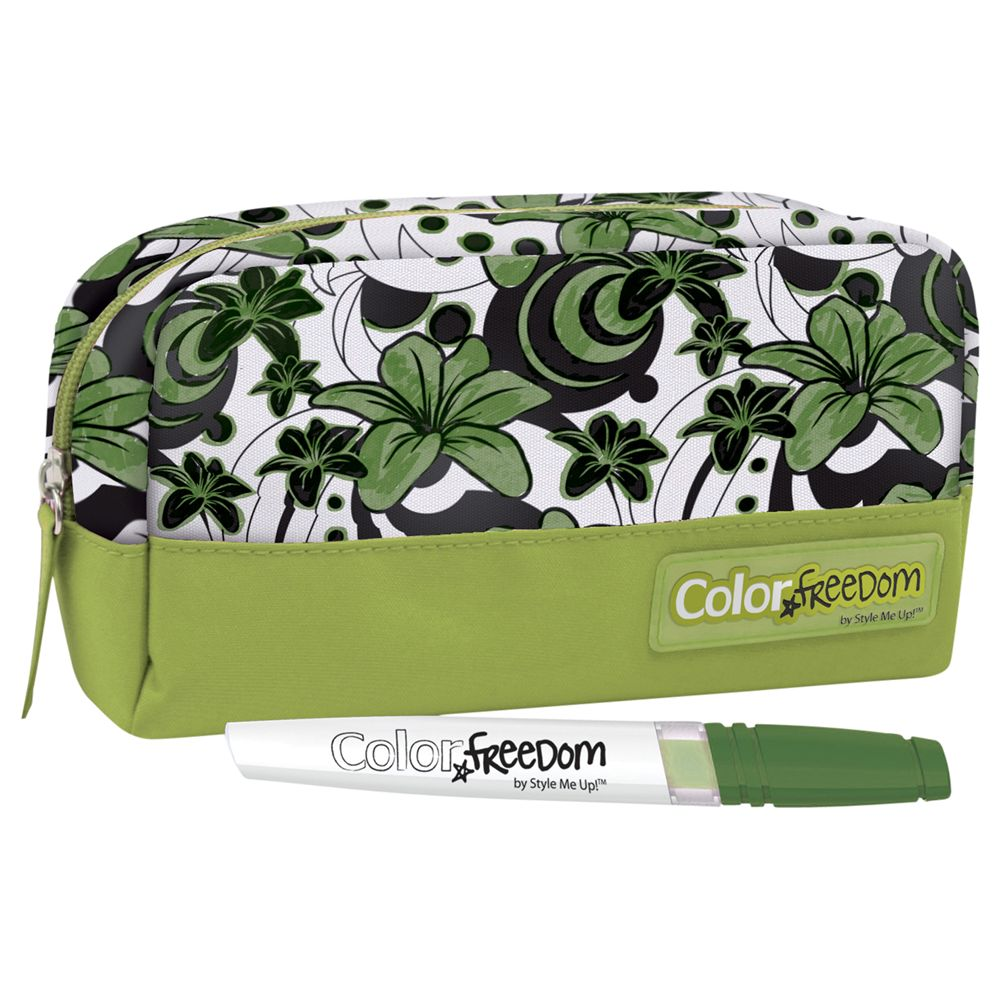 Style Me Up Colour Freedom Green Pencil Case