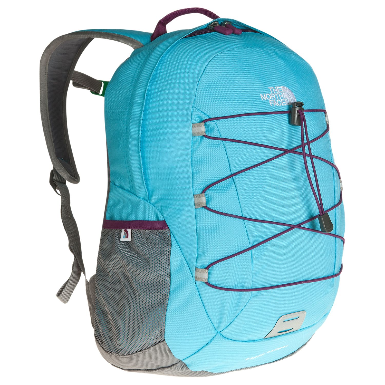 The North Face Happy Camper Kid's Backpack, Turquoise Blue