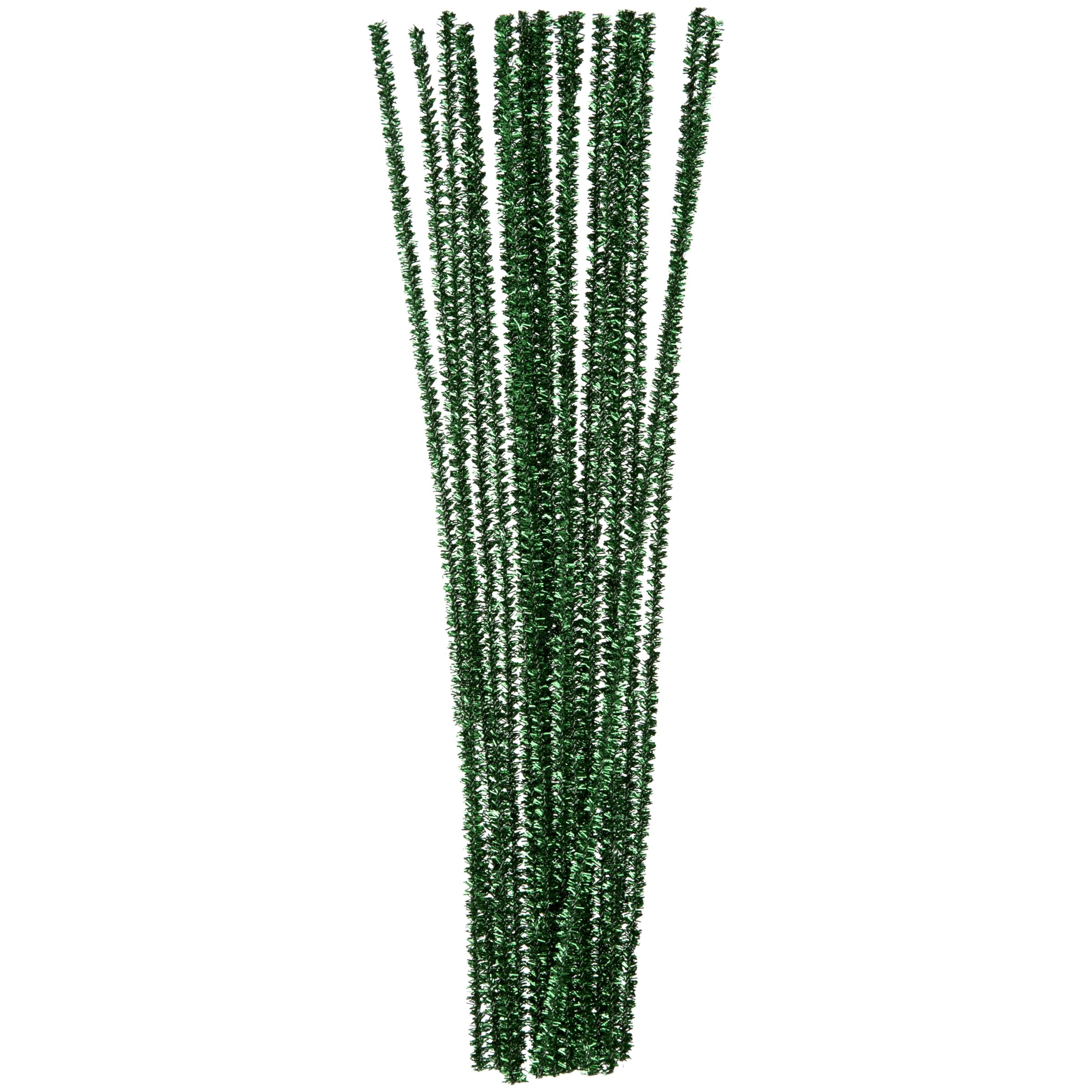 John Lewis Pipe Cleaners, Pack of 30, Green