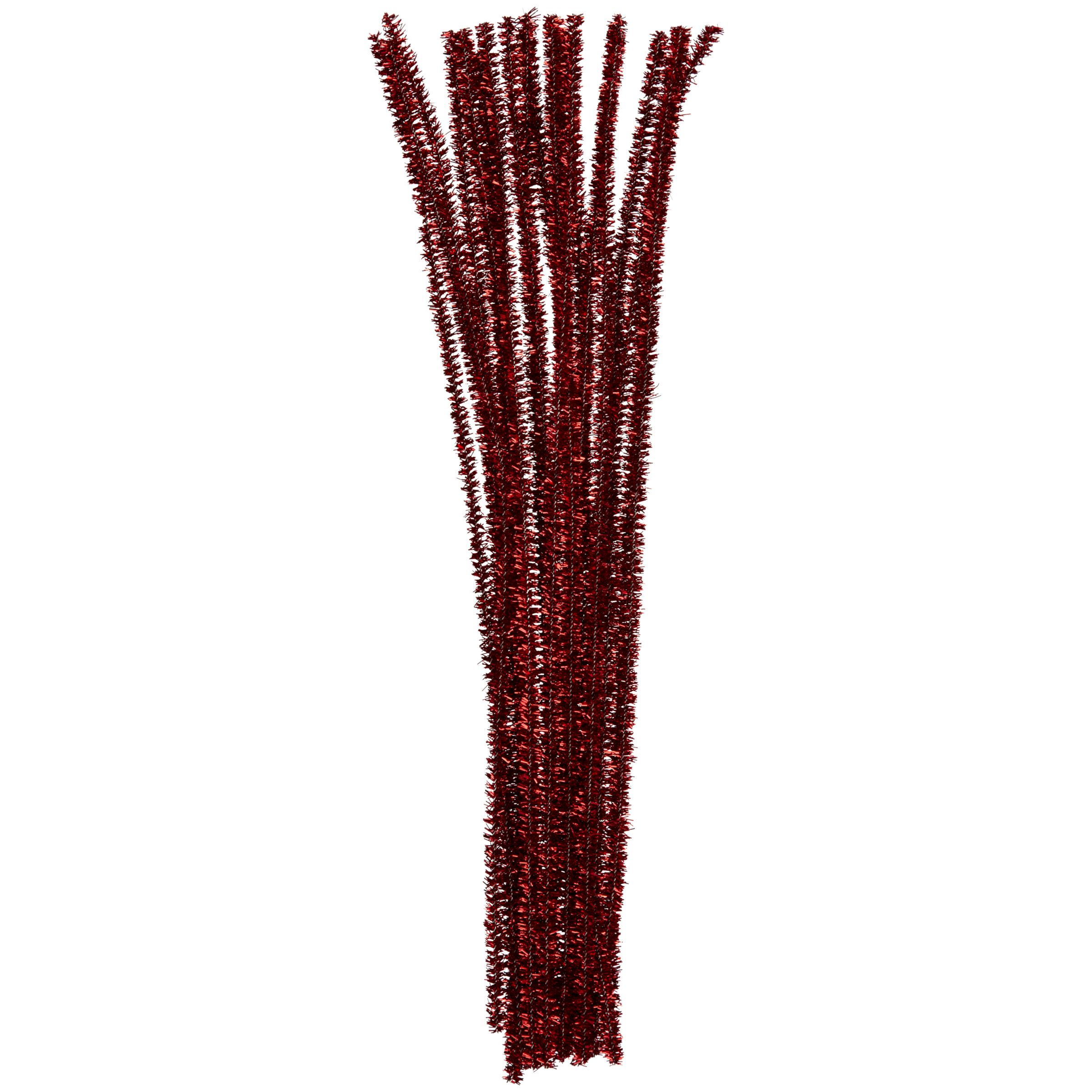 John Lewis Pipe Cleaners, Pack of 30, Red