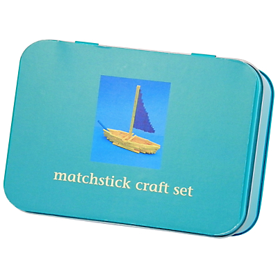 Craft Ideas  Matchsticks on Buy Apples To Pears Mini Tin  Matchstick Craft Set Online At Johnlewis