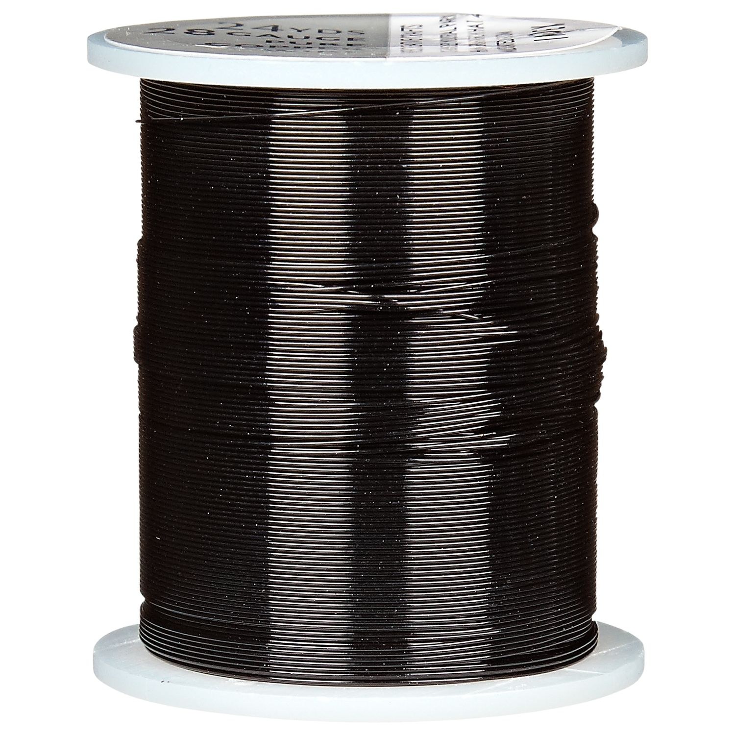 Groves A La Mode Trimits 28 Gauge Coloured Beading Wire, 22m, Black