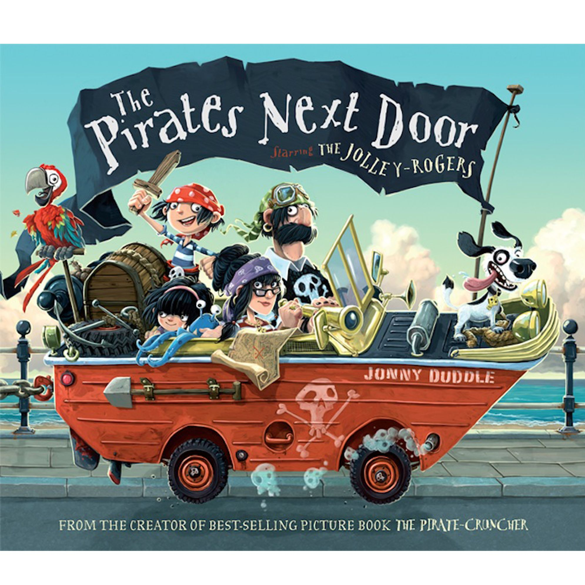 The Pirates Next Door Book