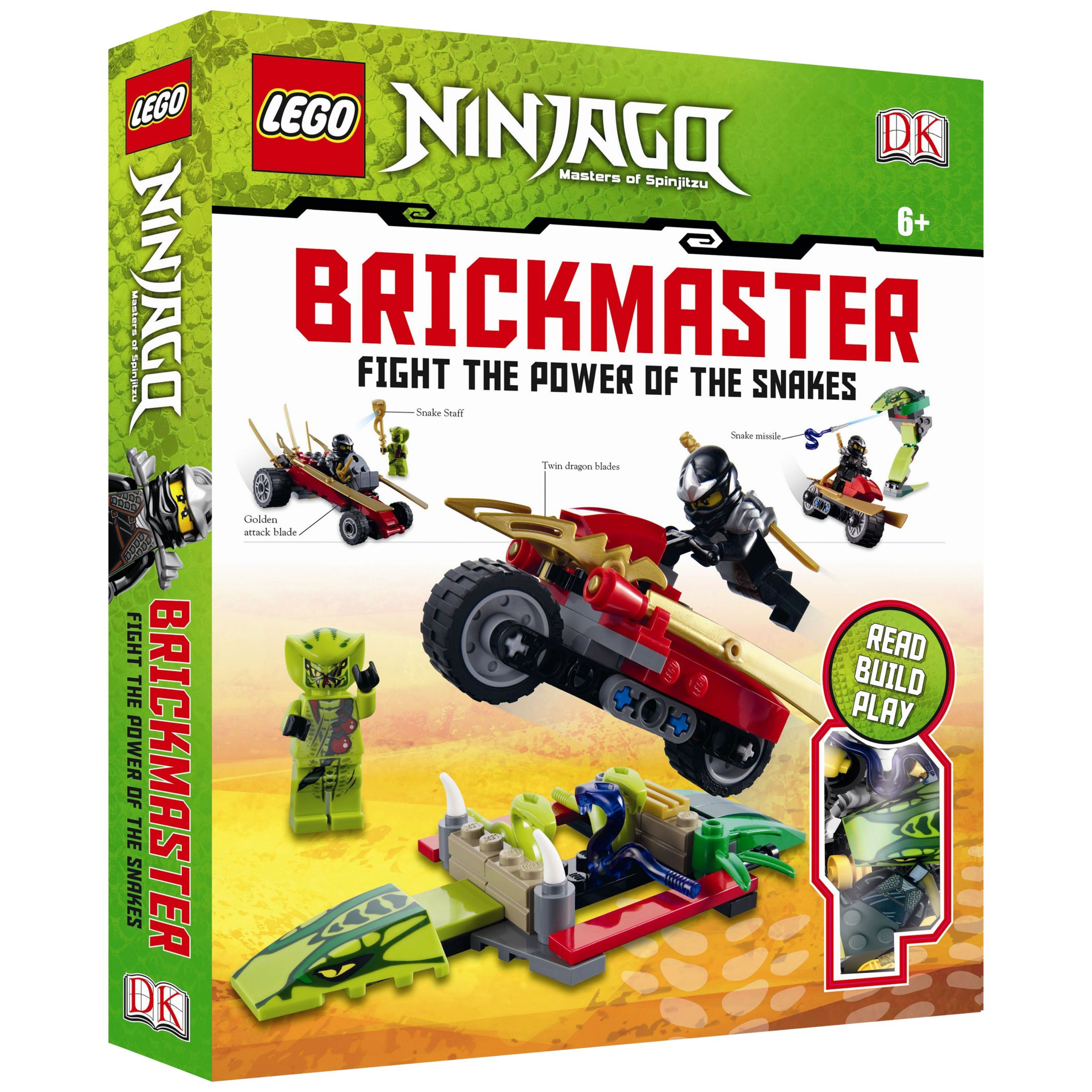 Lego Ninjago Brickmaster: Fight The Power of the Snakes