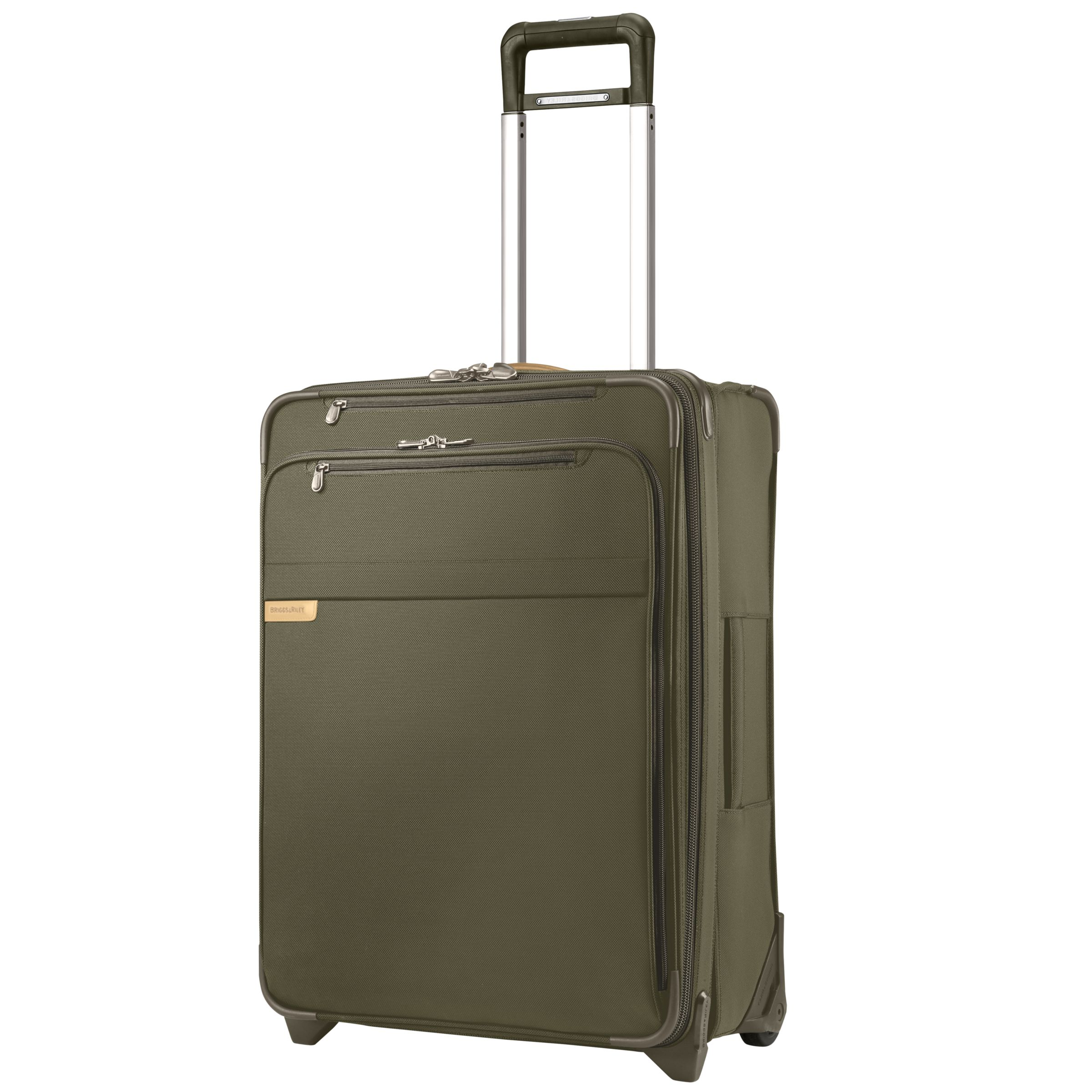 Briggs & Riley Baseline Expandable 2-Wheel Suitcase, Olive, Medium