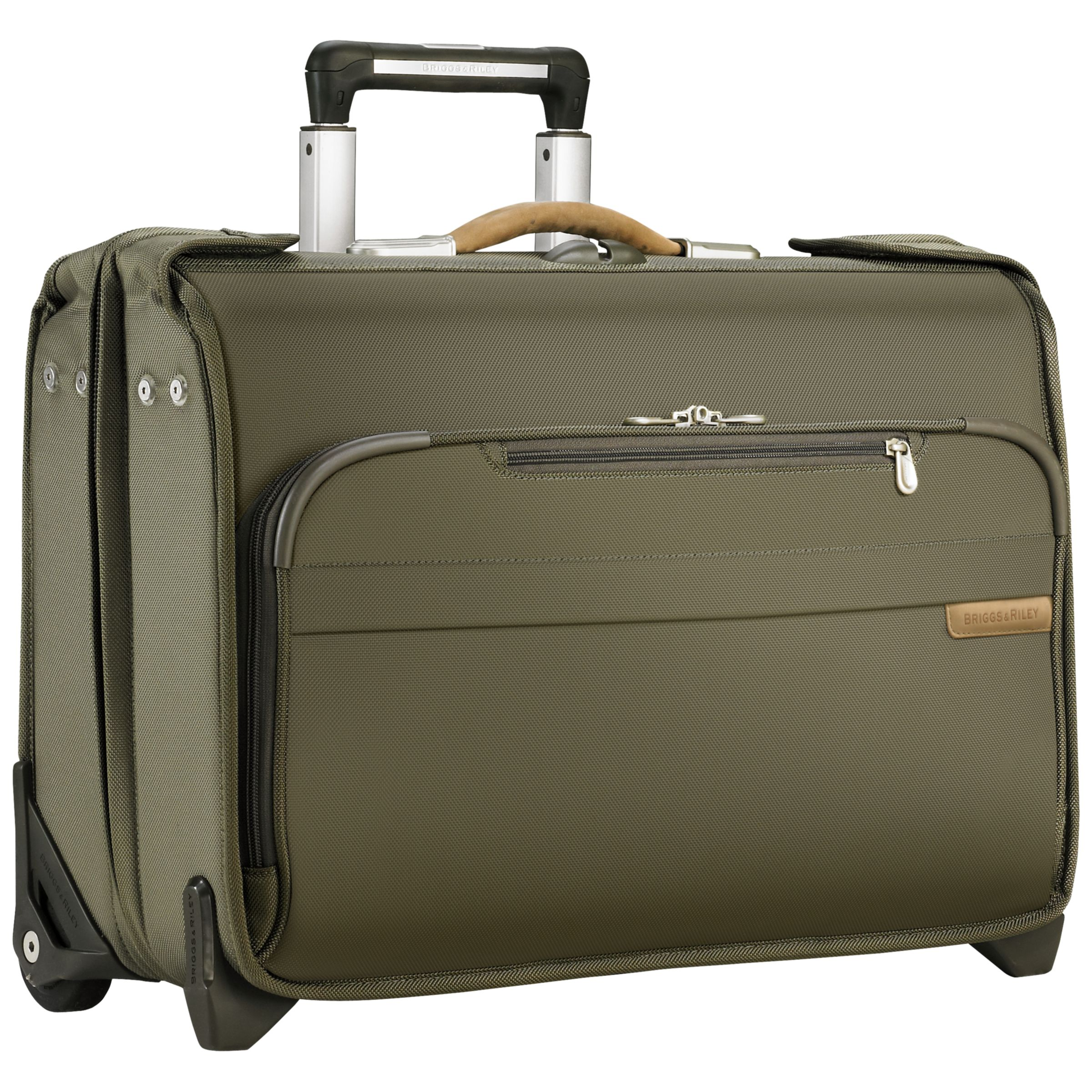 Briggs & Riley Baseline Carry-On 2-Wheel Garment Bag, Olive