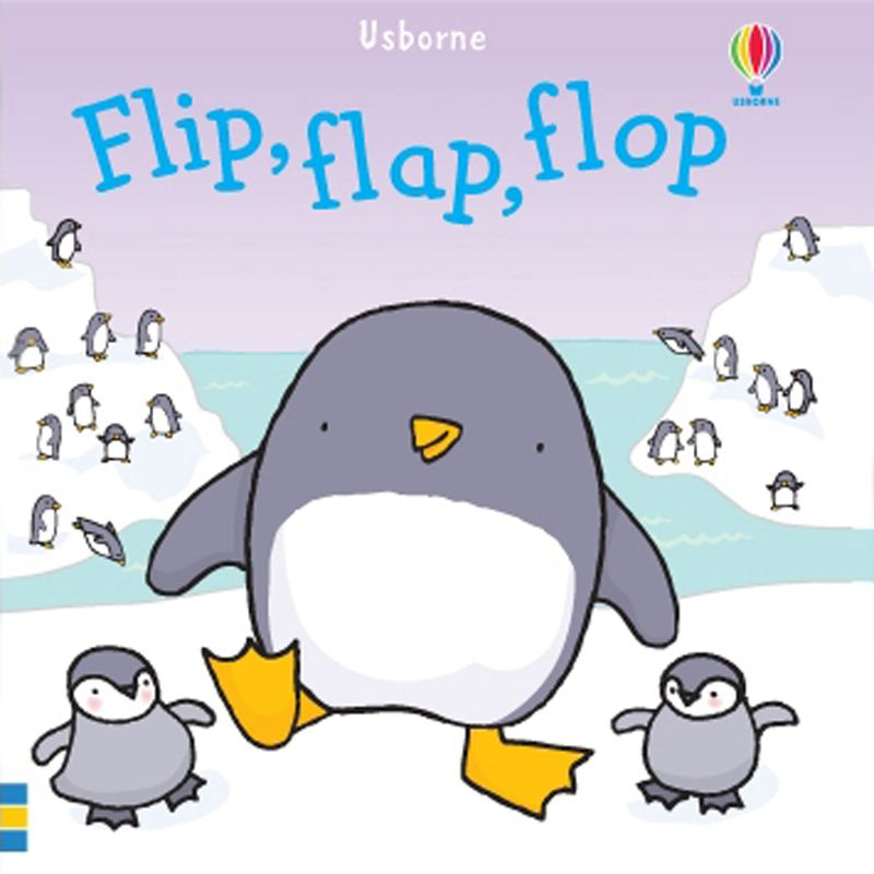 Usbourne Flip Flap Flop Bath Book