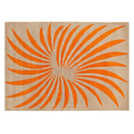 Christopher Farr for John Lewis Aperture Rug, Orange