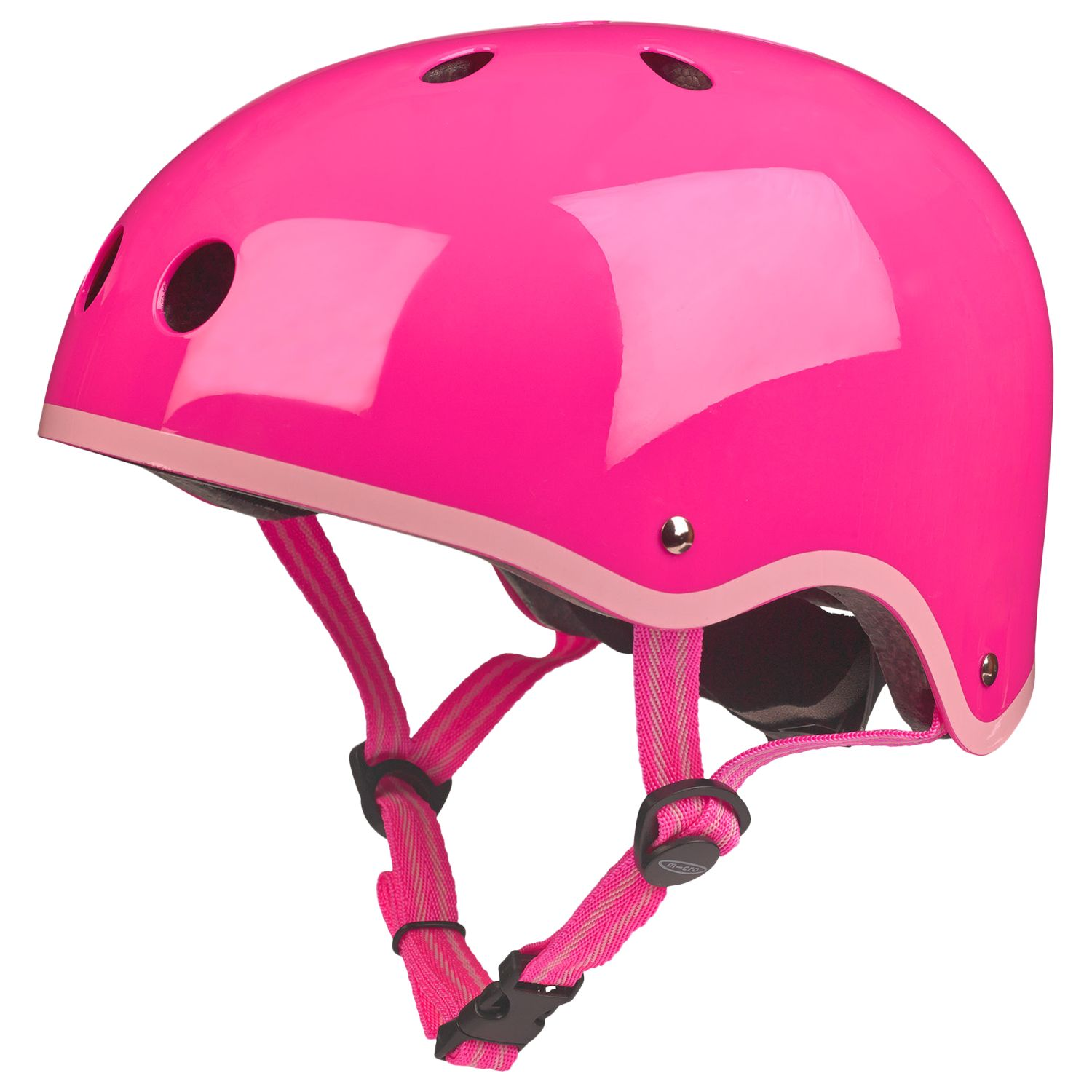 Micro Scooters Safety Helmet, Medium, Neon Pink