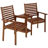 John Lewis Naples Outdoor Love Seat, width 150cm