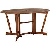 John Lewis Naples Oval 6 Seater Gateleg Dining Table, width 150cm