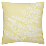 John Lewis Fern Cushion , Green
