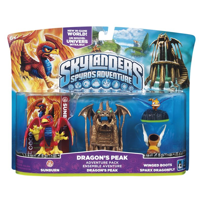 Skylanders Adventure Pack, Dragon's Peak