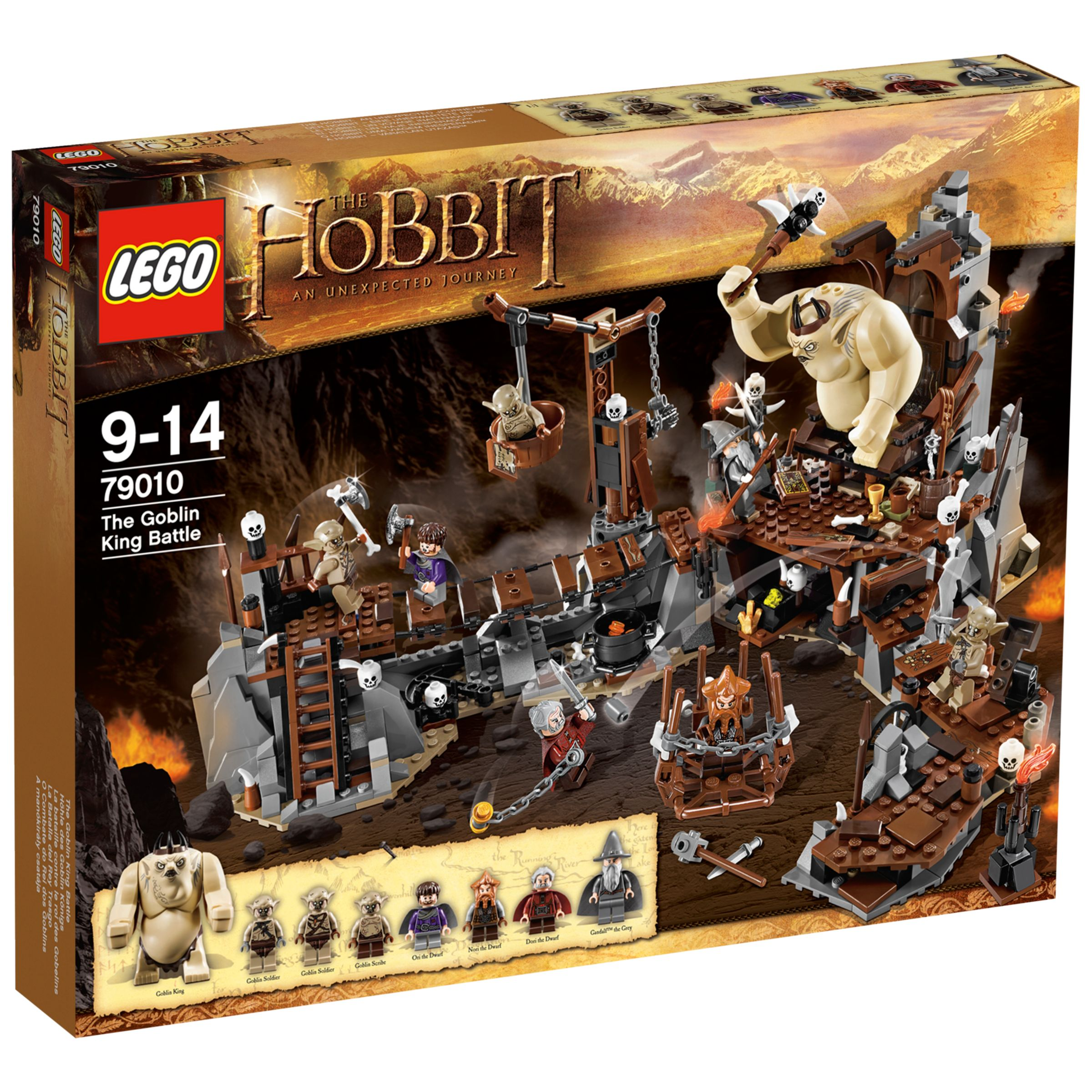 Lego The Hobbit, The Goblin King Battle Set