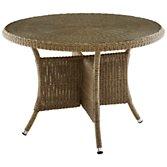 John Lewis Rimini 4 Seater Outdoor Dining Table, width 110cm