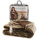 Dreamland 16084 Relaxwell Deluxe Faux Fur Heated Throw