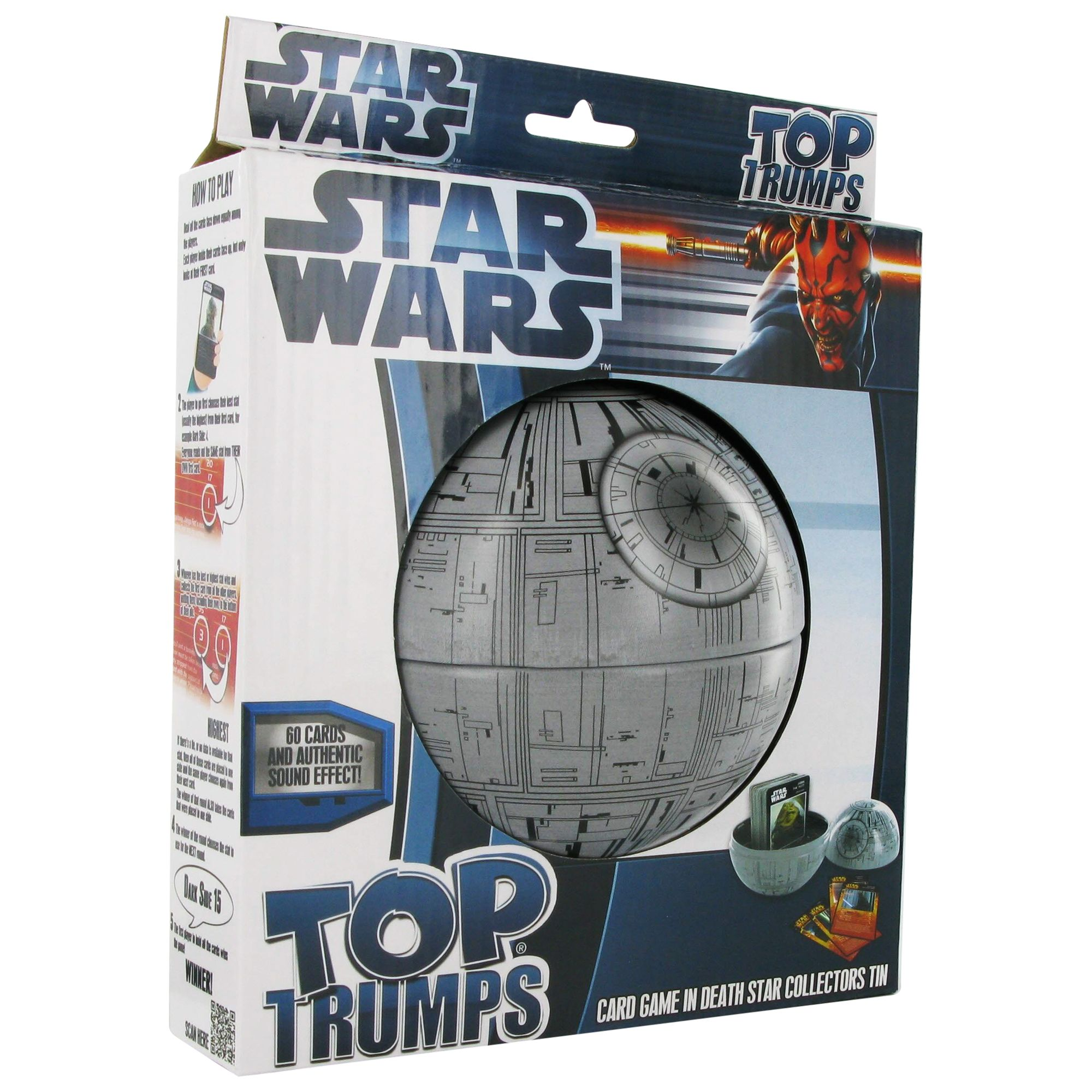 Top Trumps Collectors Tin, Star Wars Death Star