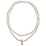 Claudia Bradby Long Pearl Rope Necklace